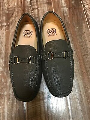 Phat Classic Gray Loafers 9.5 Mens Slip On Casual Fashion