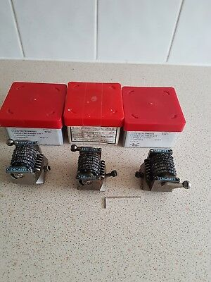 3 Zacares Numbering Boxes for Rotary Numbering  Machines