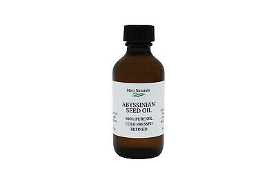 Abyssinian Oil/ Crambe Oil Cold Pressed Organic 100% Pure by Mico Naturals