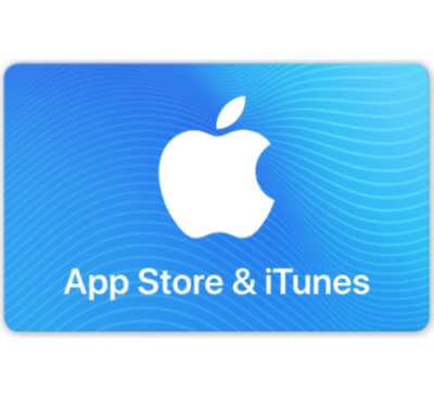 App Store & iTunes Gift Cards $50.00