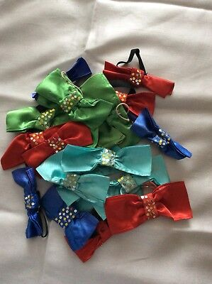 Bow Ties. Satin, Sequined. Pantomime. Dancing School. Fancy Dress. 22