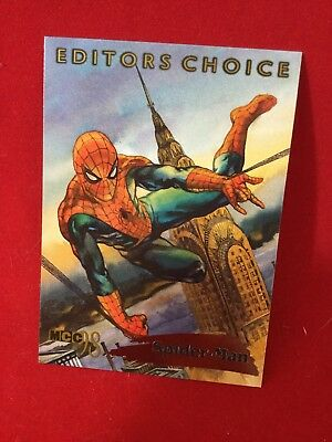 "1998 Fleer/Skybox MCC98 ""Editors Choice"" Spider-Man Card 9 of 12 Stan Lee"