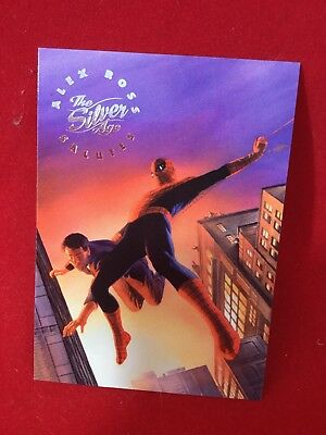 "1998 Skybox Marvel: The Silver Age ""Alex Ross Salutes"" Card AR8 Spider-Man"