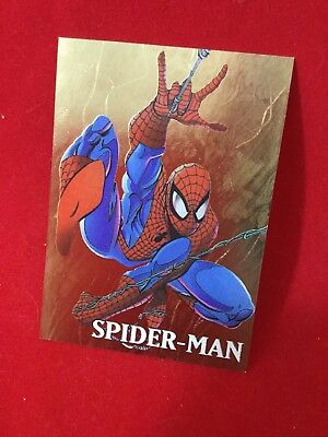 1998 Skybox Marvel Creators Collection MARVEL GOLD Card 1 Of 4 Spider-Man