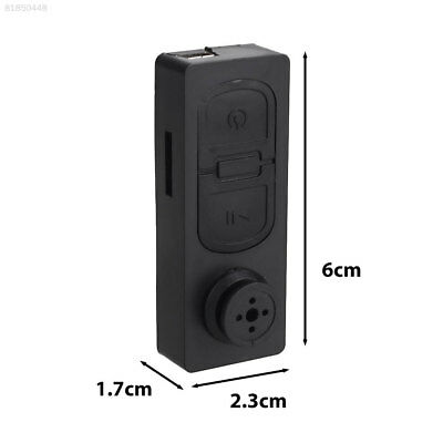 B6F3 Pinhole Cam Premium Protable HD 1080P Mini Button Pinhole Vidicon