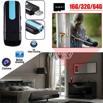 8EB1 Night Vision Camcorder Mini Smart USB Drive HD Motion Detection Camcorder