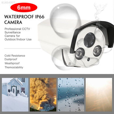 2E86 Security Camera Premium High Performance 6mm Len 50 Degrees Home