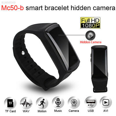 D0B1 Camera Bracelet Rechargeable Smart 30fps HD Monitor Indoor