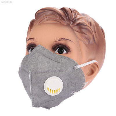 E8A5 Riding Mask Breathable Comfortable Filter Cloth Grey Air Filter Bicycle