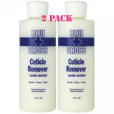 Blue Cross Cuticle Remover 6 Oz 2 Pack