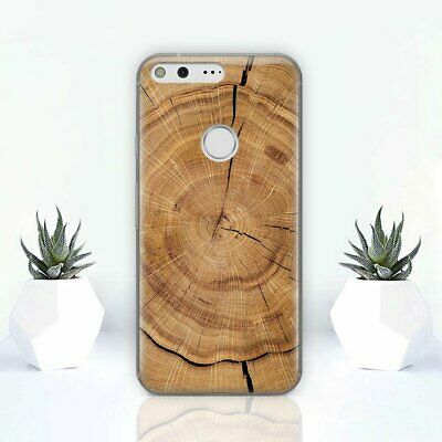 Wooden Cut Google Pixel 2 3 XL Cover Nature Wood Google Pixel 2 3 Case Skin