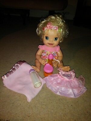 Rare Baby Alive Learns To Potty Doll - Dressed - VGC