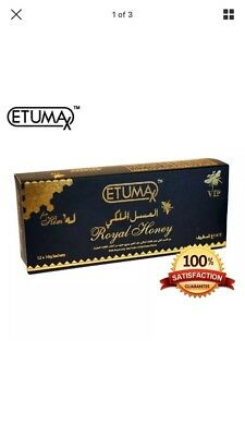 1 Box Authentic Etumax Royal VIP Honey For Him Male Sexual Enhancement