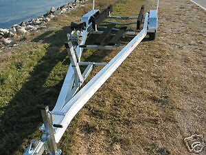 New Ace 2019 Aluminum Boat Trailer Tandem With Brakes