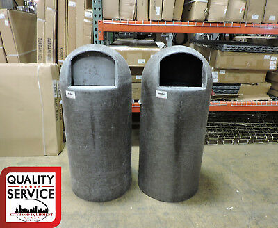Continental Manufacturing Commercial Bullet Trash Can