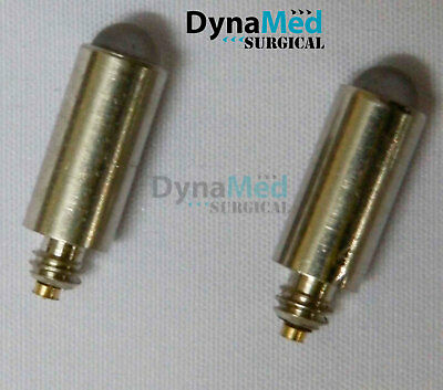 LED Bulb for Laryngoscope/Otoscope etc. 2 Pcs, Whitest LED illumination