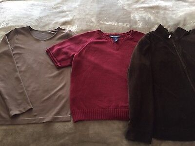Lot Of 3 Women S Shirts Tops Blouses Size L Large Forever 21