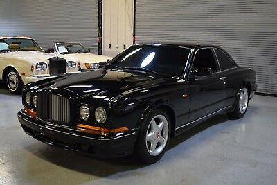 1997 Bentley Continental Flying Spur  1997 Bentley CONTINENTAL T Mulliner Coupe 21k miles Black on Black