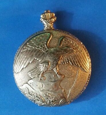 Madison by Mathey Tissot Quartz Pocket Watch Eagle Front