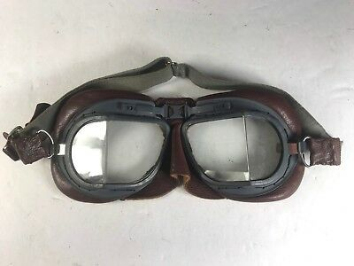 Original WW2 British/Canadian RAF MK.VII Mark 8 Flying Goggles