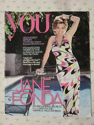 You Magazine (Daily Mail) 7 August 2011 - Jane Fonda Nerina Pallot