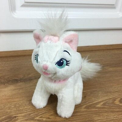 """Disney Store Marie Aristocats Pink Bow 7"""" Soft Plush Toy"""