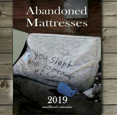 Abandoned Mattress Calendar 2019 Funny Shit London stocking filler secret santa