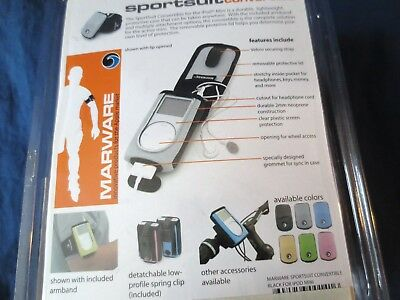 SPORTSUIT CONVERTIBLE -iPOD MINI-NEW-LIGHTWEIGHT PROTECTIVE CASE with ARMBAND