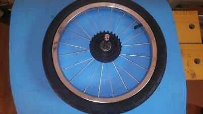 """Baby Trend Expedition Jogger Stroller Replacement 16"""" REAR Wheel w/ Innova Tire"""