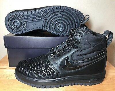 Nike LF1 Lunar Force Duckboot 17 Size 8 Black Anthracite Mens New 916682-002