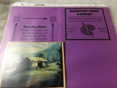 Art Pattern Packet by Dorothy Dent 1996 - Mail Pouch Tobacco Road 16x20