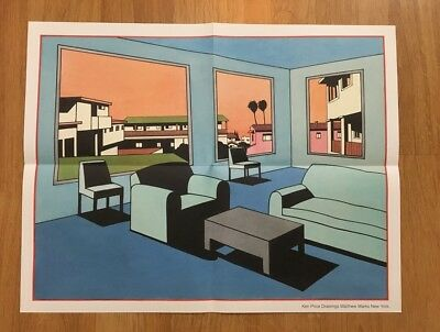 Gorgeous Ken Price drawings poster, 2016 out of print