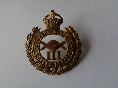 Rare Queensland kennedy regiment badge.