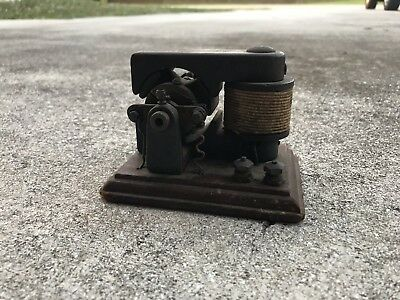 Antique Late 1800's - ealry 1900's ?? Electric DC Bipolar Motor Unmarked