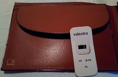 valextra milano purse wallet cheque etui map leather cuir pelle luxe vintage br