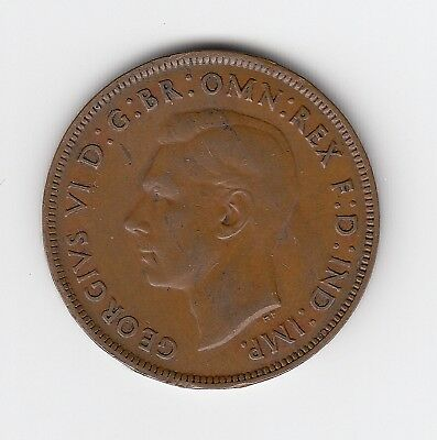 1941M Australia Kgvi Penny -  Nice Collectable Vintage Coin