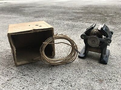 Antique Late 1800's - ealry 1900's  Electric DC Bipolar Motor Generator Unmarked