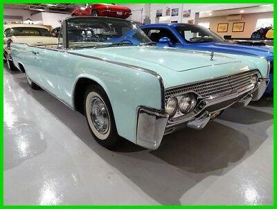 1961 Lincoln Continental Convertible 1961 Lincoln Continental 4-Door Retractable Top Convertible Gorgeous LOW RESERVE