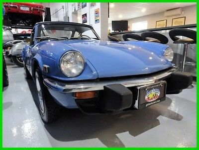 1976 Triumph SPITFIRE CONVERTIBLE 1976 CONVERTIBLE Used Manual