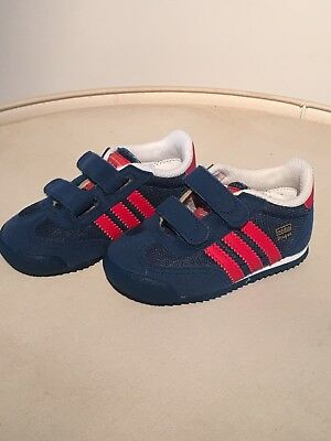 BRAND NEW NEVER WORN :Adidas Dragon Toddler Shoes