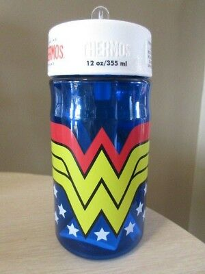 NEW! Wonder Woman Genuine 12 oz Thermos