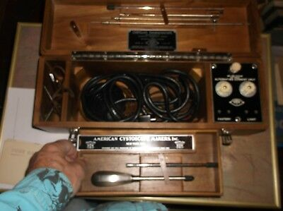CORYLLOSS THORACOSCOPE IN BOX - American Cystoscope Makers - obsolete / quack