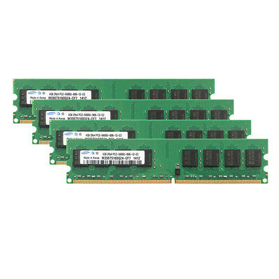 Samsung 4GB PC2-6400 DDR2 800Mhz DIMM High Density Memory For AMD CPU Chipset #D