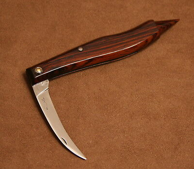 Unusual French Cognet Truffle Collecting Folding Pocket Knife