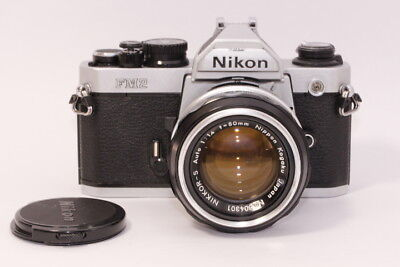 [EXC+++++] NIKON FM2N camera with Nikkor-S 50mm F1.4 #667