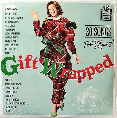 *PROMO-ONLY* COLOR VINYL* MICHAEL BUBLE, others - Gift Wrapped (2009) 2x 12in LP