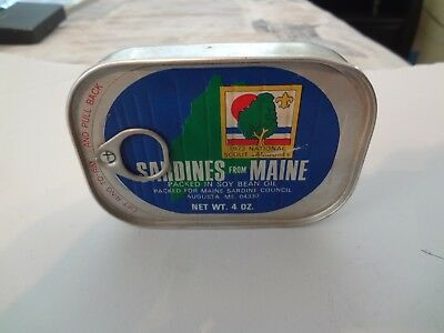 """Bsa- National Jamboree 1973 - From """"maine"""" """"sardines """" In Can"""