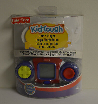 FISHER-PRICE KID-TOUGH GAME PLAYER NEW SEALED 8 games 20 activities