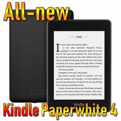 Amazon All-new Kindle Paperwhite 4 (2018)(10th generation) ebook reader w/ light