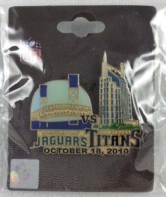 NFL 2010 10/18 Tennessee Titans vs Jacksonville Jaguars Pin of the Game